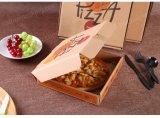 La aduana barata al por mayor imprimió los rectángulos acanalados cortados con tintas Micro-Flauta de la pizza