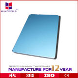 El panel compuesto de aluminio 3m m de la tarjeta de Acm de la capa de Alucoworld PVDF 5m m