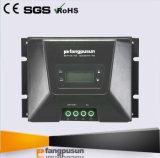 * Contrôleur de remplissage évalué solaire 70A de l'écran LCD MPPT de tension du système d'alimentation de Fangpusun de haute performance initiale de modèle 12V 24V 36V 48V avec du ce RoHS