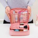 Sac de beauté de femmes de capacité de Madame Traveling Cosmetic Bag Big de couleur de sucrerie
