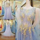 Мантии отвесного выпускного вечера партии Neckline официально отбортовывая платье вечера T1791