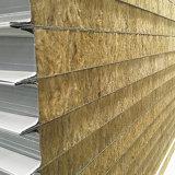 El panel de pared de emparedado de las lanas de roca