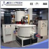 De plastic Eenheid van de Mixer van de Hoge snelheid van het Poeder van pvc Materiële heet-Koude