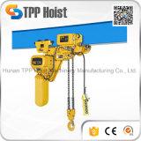 Tipo alzamiento de cadena eléctrico de la carretilla de Hsy del sistema de la polea