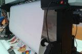 Impresora solvente compacta económica de Eco el 1.6m con la sola cabeza de impresora de Epson