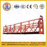 Piattaforma sospesa provvisoria elettrica di alluminio Zlp630 per pulizia della costruzione