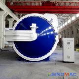 автоклав прокатанного стекла нагрева электрическим током 3000X9000mm аттестованный ASME (SN-BGF3090)
