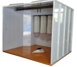 モノラル大きいサイクロンの回復システムが付いている粉のコーティングのスプレー・ブース