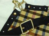 Écharpe imprimée numérique à rayures acryliques à rayures pour dames (ABF22006101)