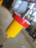 Cilindro telescópico del petróleo hidráulico de China para la prensa de planchar