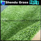 Grama sintética barata da grama de Hebei para o jardim 10mm
