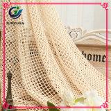Poliéster Spandex trama de tejer la tela del cordón para la venta a granel