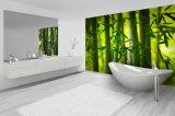 Nuova carta da parati impermeabile a buon mercato smontabile di disegno per la decorazione delle stanze da bagno