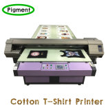 Camiseta digital de la impresora de la tela de algodón Impresión directa