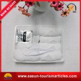 航空会社のための使い捨て可能で白い皿の綿の表面タオル