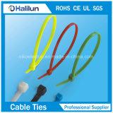 Atadura de cables de nylon de la venta caliente para el objeto fijo