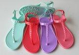 Crytalの女性PVC靴