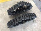 Het rubber Kruippakje van het Spoor voor MiniMaaimachine