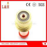 45V25 TIG van de Diameter van de middelgrote Grootte het Lichaam van de Ring van de Lens van het Gas van het Lassen