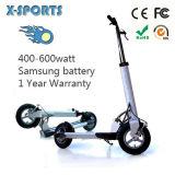 Scooter se pliant de certificat de la CE électrique
