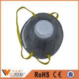 Anti máscara de poeira ativada do filtro do carbono da poeira preto descartável