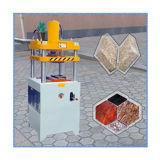 Presse à emboutir en pierre applicable pour faire des tuiles de machine à paver