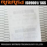 Tag impermeável personalizado freqüência ultraelevada da impressão de cor RFID para a gerência de pano