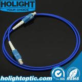 El Sc a la corrección unimodal a una cara de la fibra del Sc cablegrafía el azul