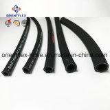Tubo flessibile idraulico idraulico di gomma flessibile ad alta pressione della treccia del filo acciaio di alta qualità/del tubo flessibile