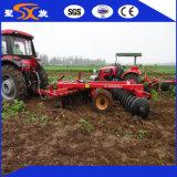 Grade de disco agricultural do uso do trator de cultivo