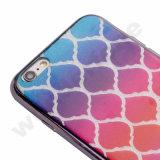 Tampa dobro do telefone do Glitter da impressão TPU de IMD para o iPhone 7