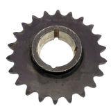 Piñón de cadena 25b20 25b21 25b23 del rodillo de acero de la alta calidad
