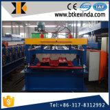 Roulis de paquet d'étage de toiture en métal de qualité de Kxd 688 formant la machine