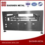 Kundenspezifisches Edelstahl-Geräten-Blech, das Herstellungs-Maschinerieteil darstellt