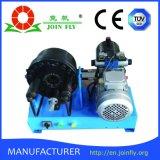 移動式サービス(JK160)のための高圧ホースのひだが付く機械