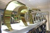 Goldener Farbe BADEKURORT Bad-Geräten-Stahlpool-Wasserfall