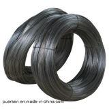 Uso destemplado negro suave con poco carbono del alambre en la construcción