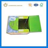 Verpakkende Doos van uitstekende kwaliteit van de Gift van het Karton van het Embleem van de Douane de Vouwbare (Goedkope verschepende doos)