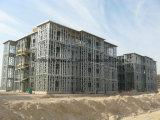 가벼운 강철 프레임 구조를 가진 3 2층 조립식 집