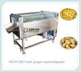 Mstp-500産業にんじんのショウガのクリーニング機械、ポテトの洗濯機およびピーラー