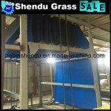 tapete artificial azul barato da grama de 20mm para a decoração