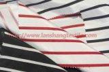 Polyester-Gewebe gefärbtes Jacquardwebstuhl-Gewebe-chemisches Gewebe für Frauen-Smokinghemd-Ausgangsgewebe