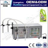 Máquina de engarrafamento líquida semiautomática