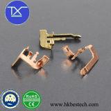 Peças de estampagem / usinagem de metais para outros aparelhos de baixa ou média voltagem
