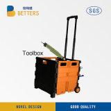 中国の収納箱の黄色の新しい電力の工具セットボックス