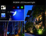 力及び角度の調節可能な屋外の照明スポットライト-- 懐中電燈のように