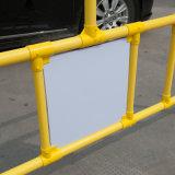 Пластичный барьер знака уличного движения барьера дороги