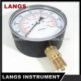 Calibrador de presión inferior de 065 cápsulas