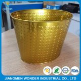 Reposição de galvanoplastia Efeito de cromo Epoxy Polyester Gold Powder Coating