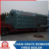 Scaldacqua infornato biomassa orizzontale industriale del Doppio-Timpano di Szl2.8-0.7MPa